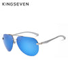 KINGSEVEN Aluminum Magnesium Polarized Sunglasses