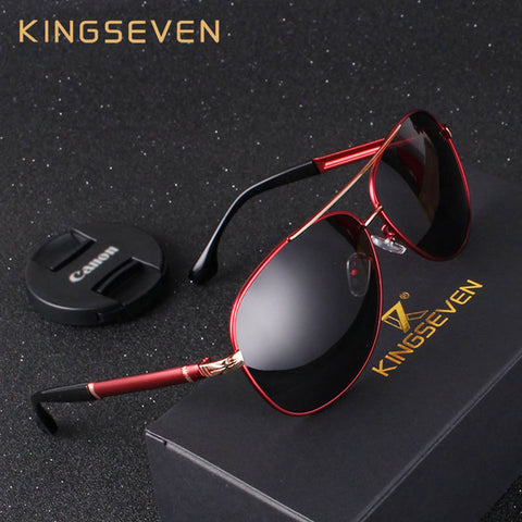 KINGSEVEN Aluminum Magnesium Men's Sunglasses Polarized Coating