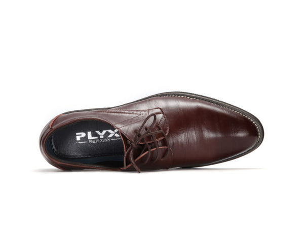 Mens Flat Classic Derby Dress Shoes