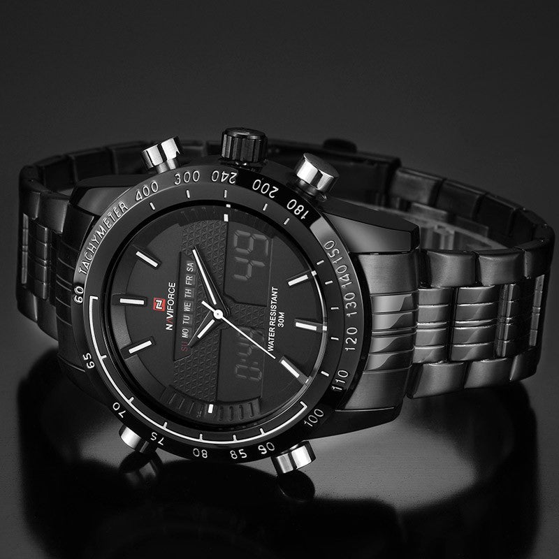 Black On Black Classic NAVIFORCE watch