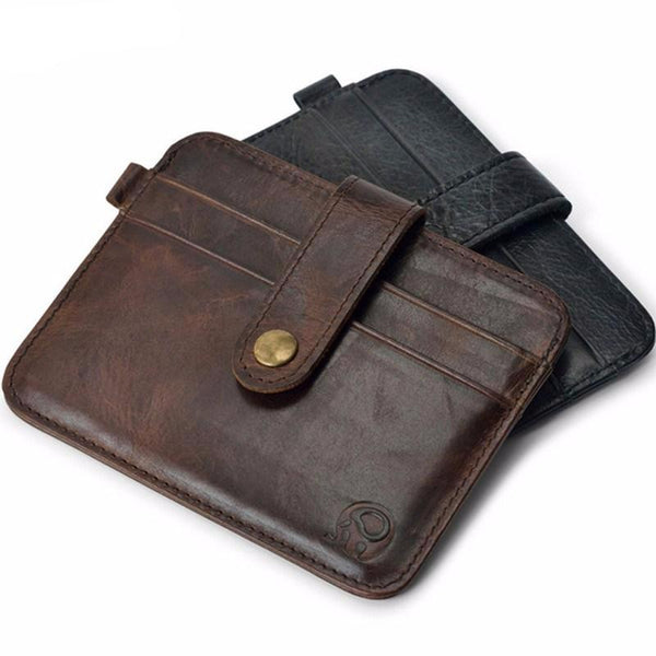 Slim Leather Men's Wallet