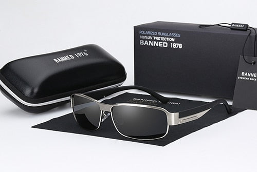 Banned 1976 HD Polarized Oculos with Box - imenapparel.com