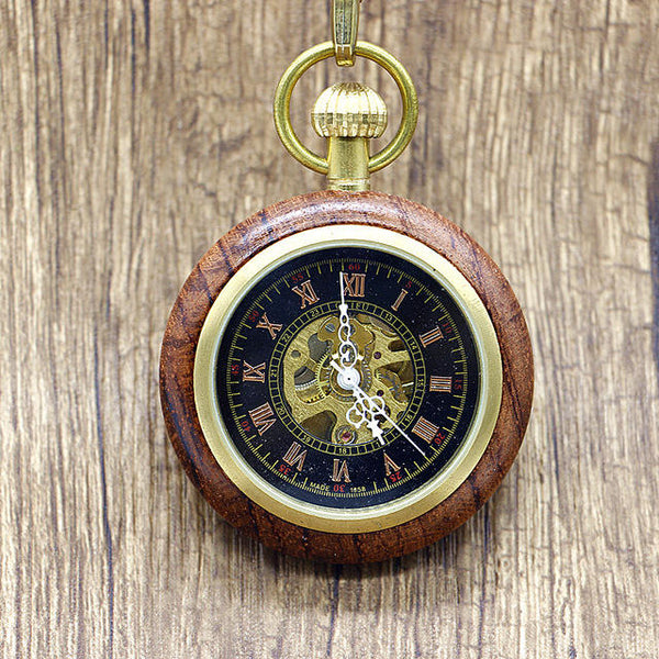 Antique Copper London Pocket Watch Hand Wind