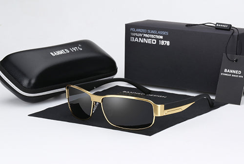 Banned 1976 HD Polarized Oculos with Box