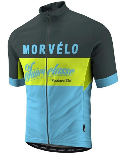 Morvelo Cycling Jersey Short Sleeve Cycling Shirt - imenapparel.com