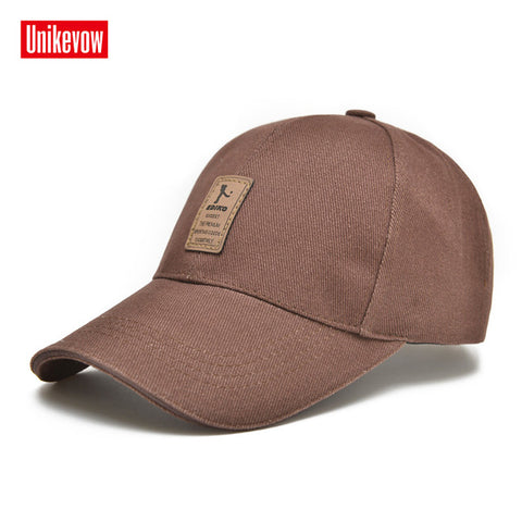 Men's Adjustable Baseball Cap Casual Solid Colors