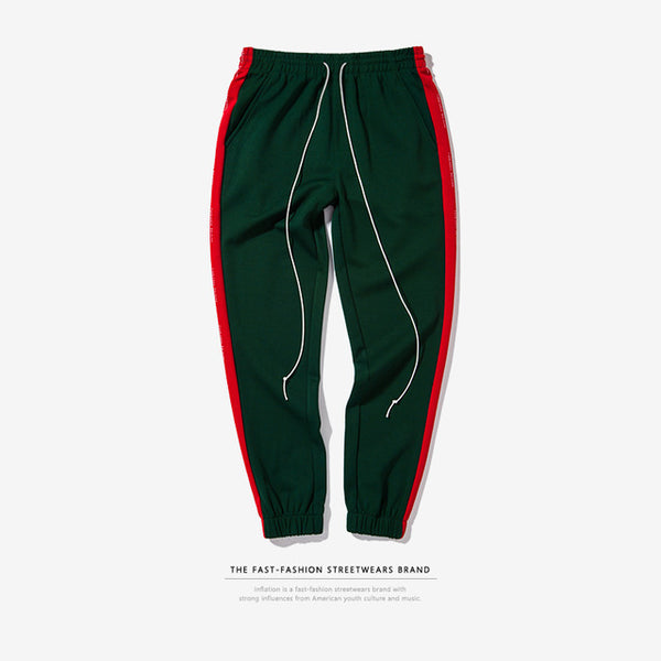 INFLATION Mens Sweatpants Side Stripe