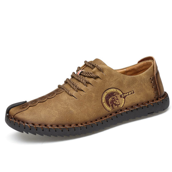 GILAUGH  Leather Casual Men Shoes - imenapparel.com