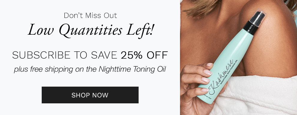 Kashmere Nighttime Skin Toning Oil