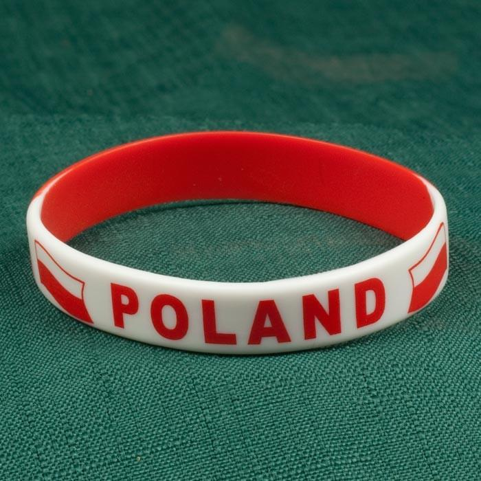 Adult's Rubber Bracelet - POLAND
