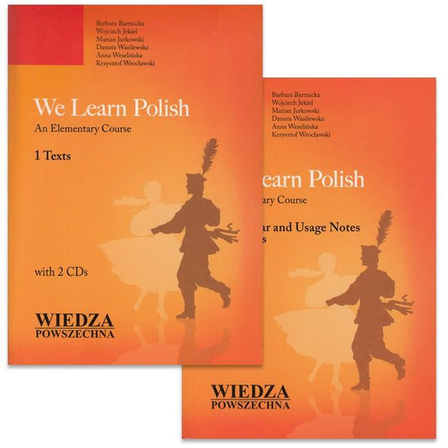 We Learn Polish (2 Books & 2 CDs)