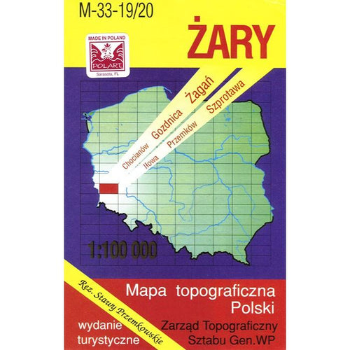 Zary Region Map
