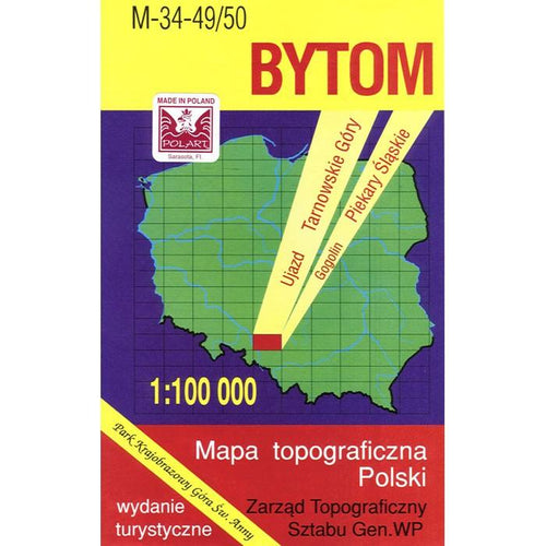 Bytom Region Map