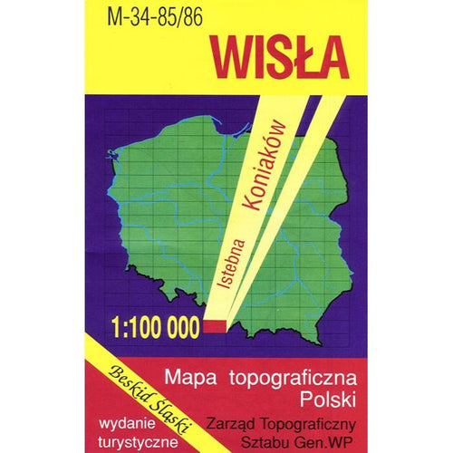 Wisla Region Map
