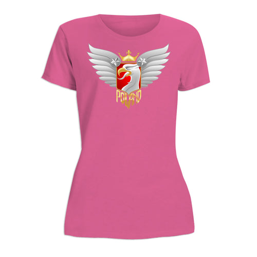 Biker Eagle Women's Short Sleeve Tshirt
