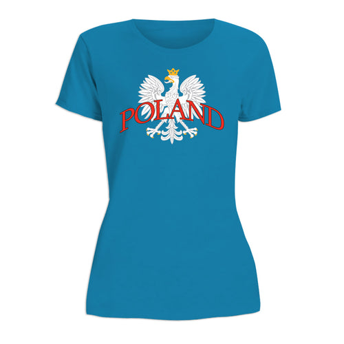 White Eagle Poland Women's Short Sleeve Tshirt