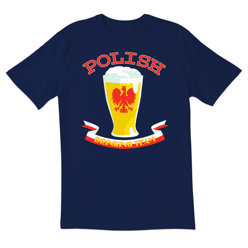 Polish Drinking Team Short Sleeve Tshirt