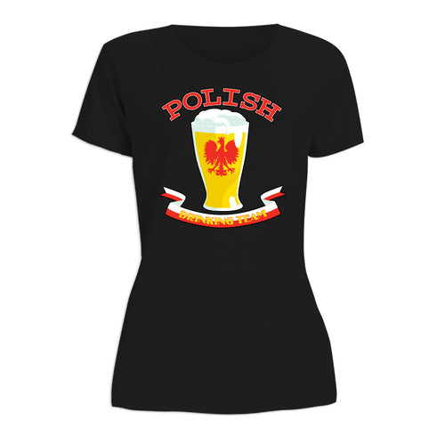 Polish Drinking Team Women's Short Sleeve Tshirt