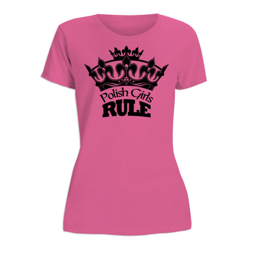 Polish Girls Rule Women's Short Sleeve Tshirt