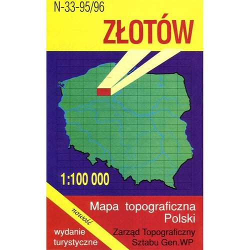 Zlotow Region Map