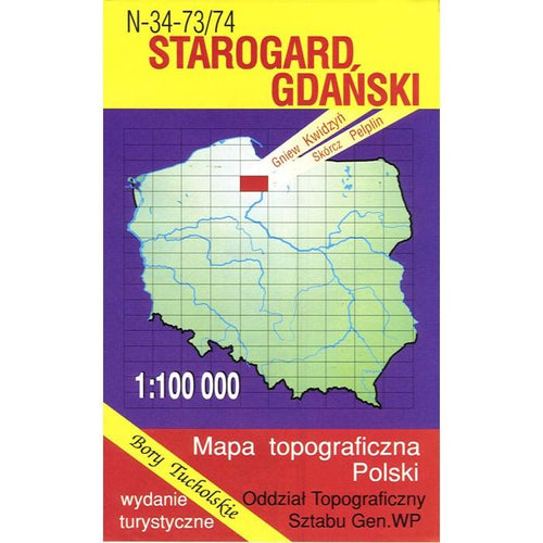 Starogard Gdanski Region Map