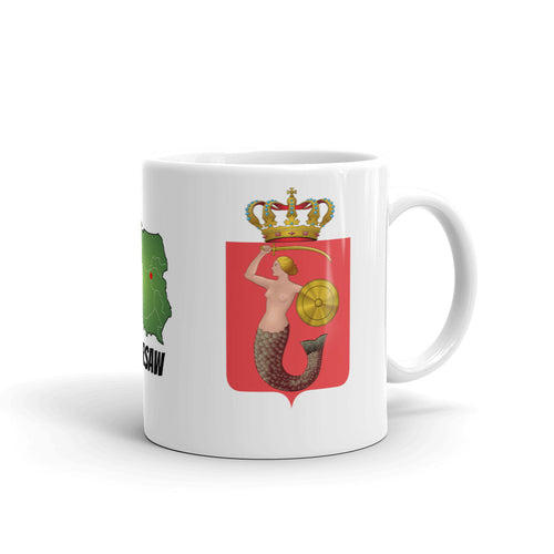 Warsaw Coat of Arms Mug