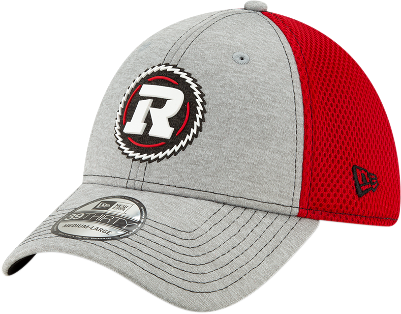 New Era 39Thirty REDBLACKS SL19 Grey