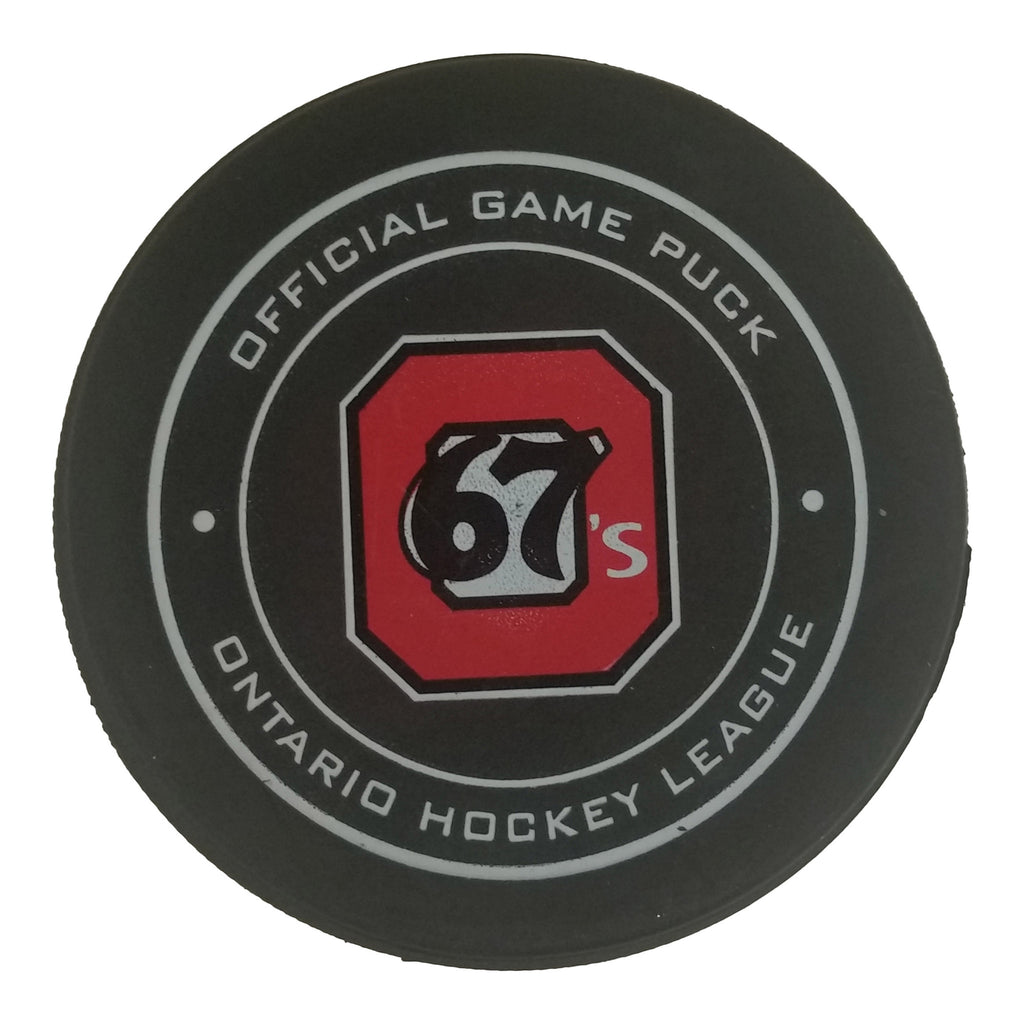 Ottawa 67's Official Game Puck