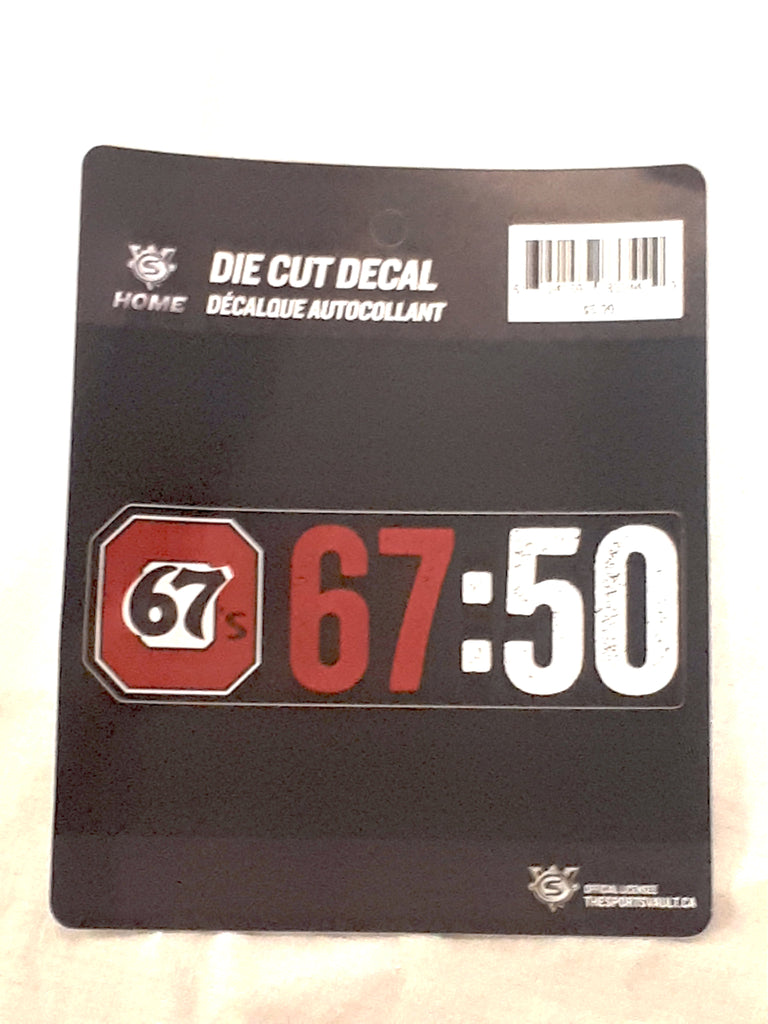 67's Anniversary Decal Cling