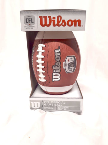 Wilson Grey Cup 105 Official Game Ball