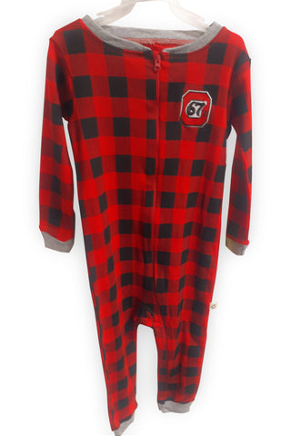 67's Plaid Infant Sleeper by Snugabye