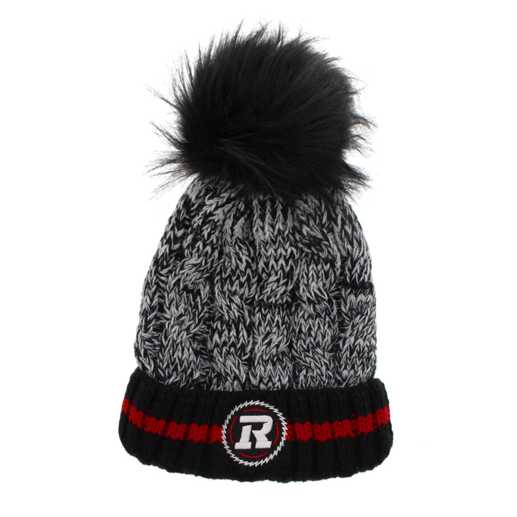 Womens REDBLACKS Knit Pom Toques