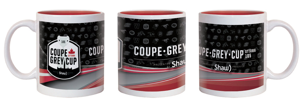 Grey Cup 105 Coffee Mug