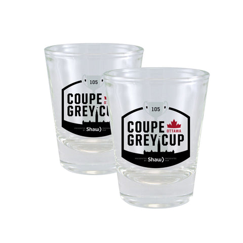 Grey Cup 105 Shot Glass Set