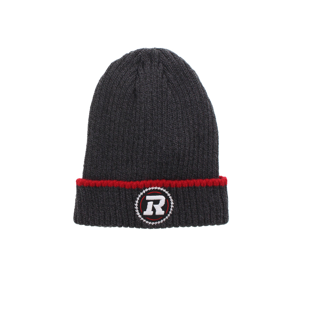 REDBLACKS Gertex Grey Cuffed Toque
