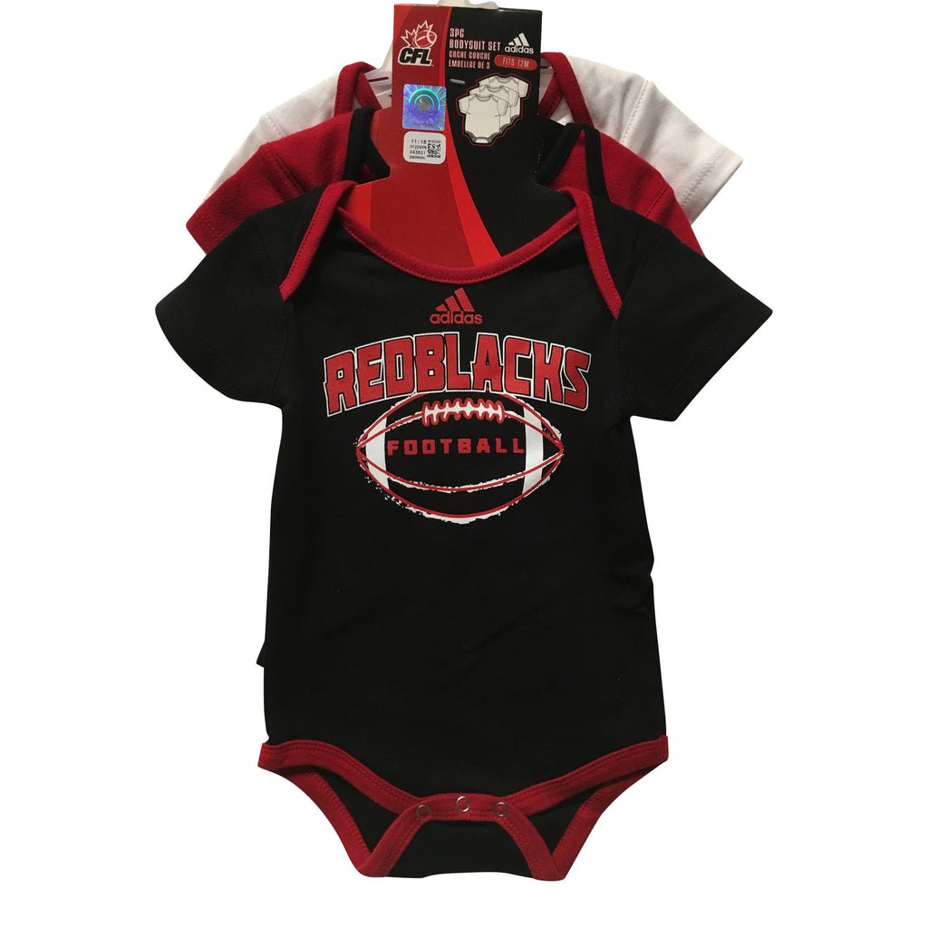 REDBLACKS Bodysuit 3 Piece Set