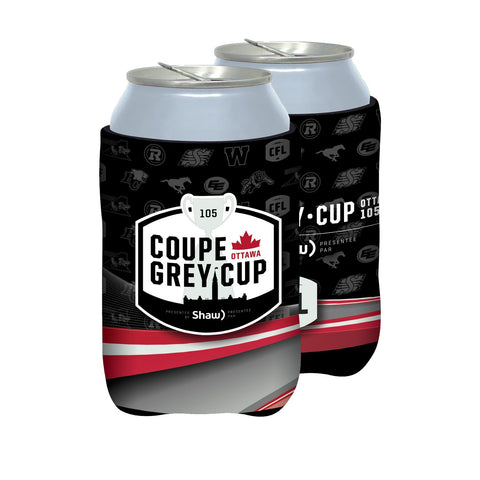 Grey Cup 105 Can Cooler