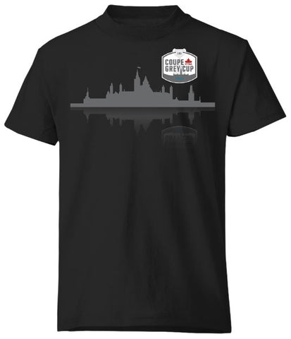 Bulletin Grey Cup 105 Youth Cityscape Tee