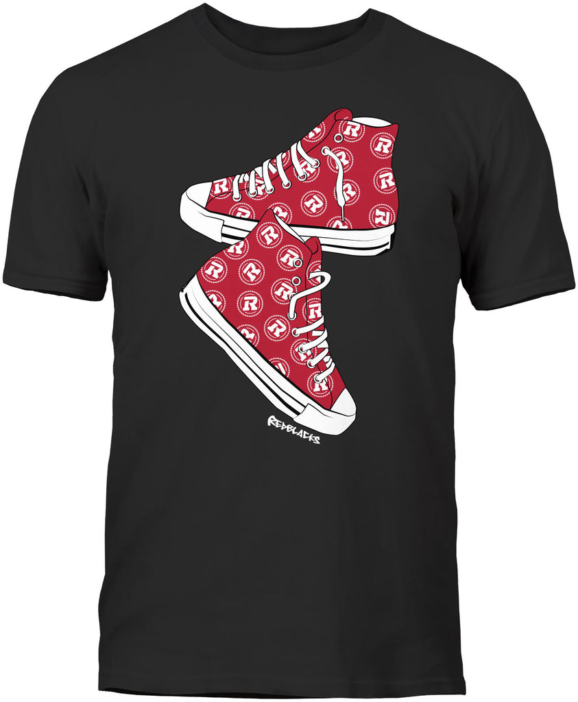 REDBLACKS Bulletin Youth Sneaker Tee