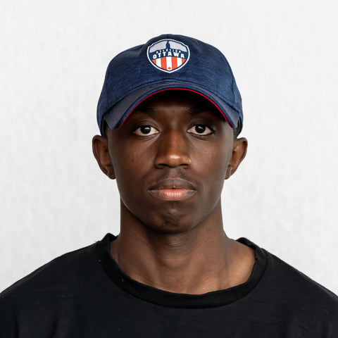 Atlético Ottawa New Era 9Twenty Logo Adjustable Hat - Navy
