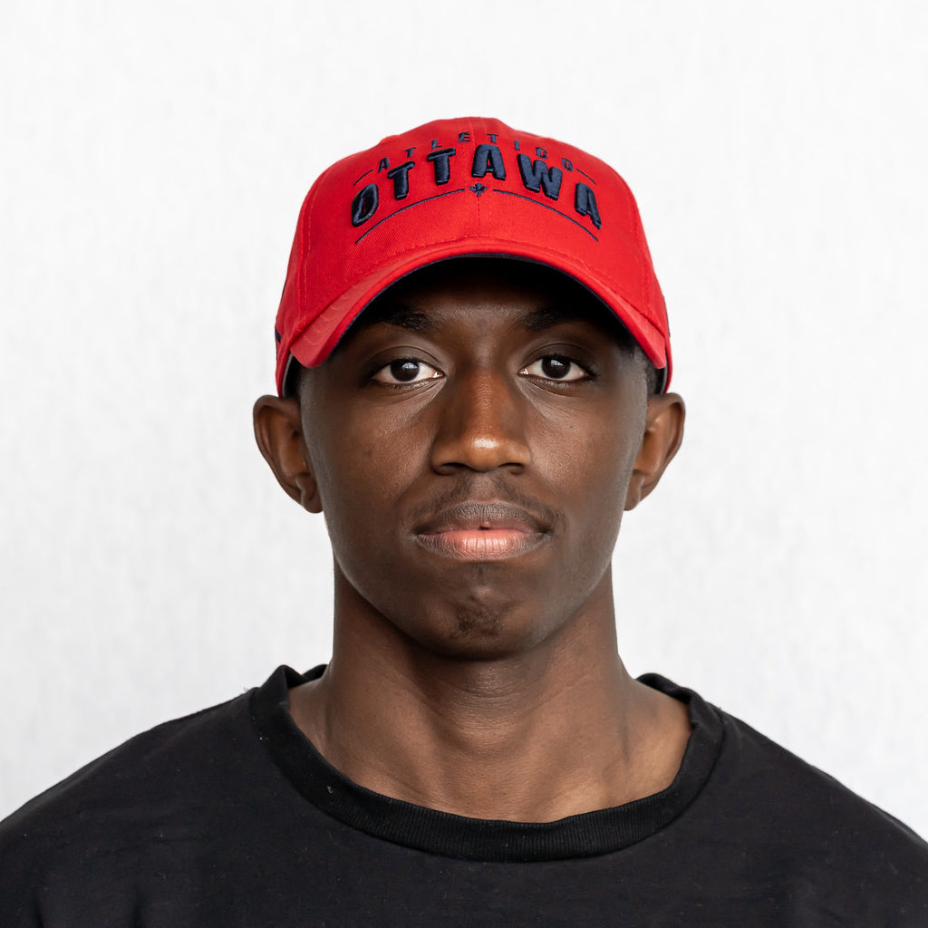 Atlético Ottawa x New Era 9Twenty Strap Adjustable - Red
