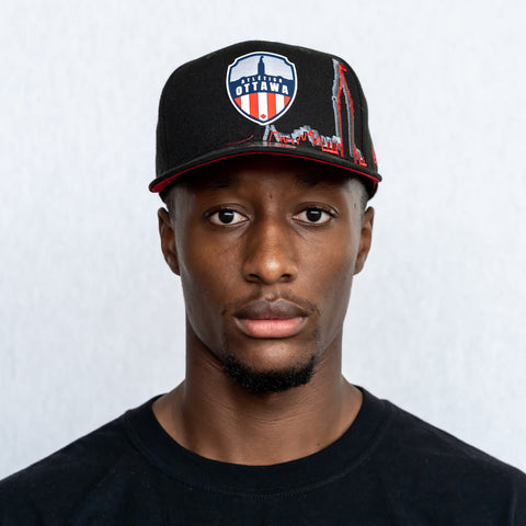 Atlético Ottawa x New Era 9Fifty Limited Edition - Fabric of the Capital