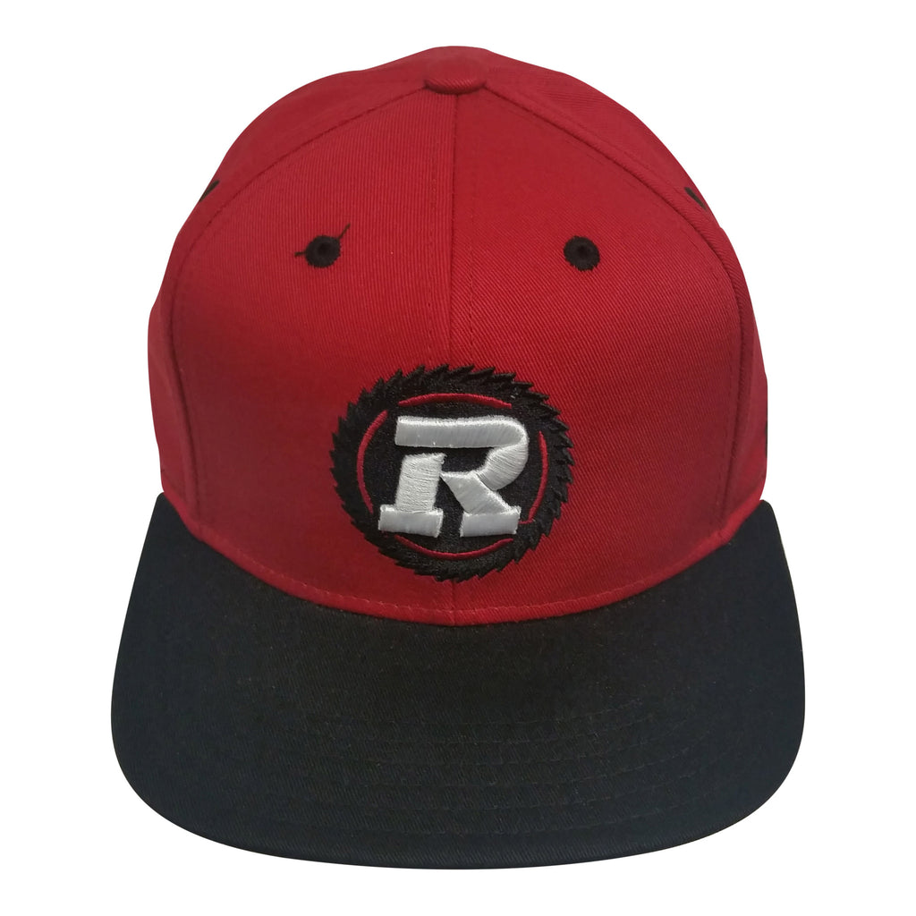 REDBLACKS Youth Flatbrim Snapback Hat - Red/Black
