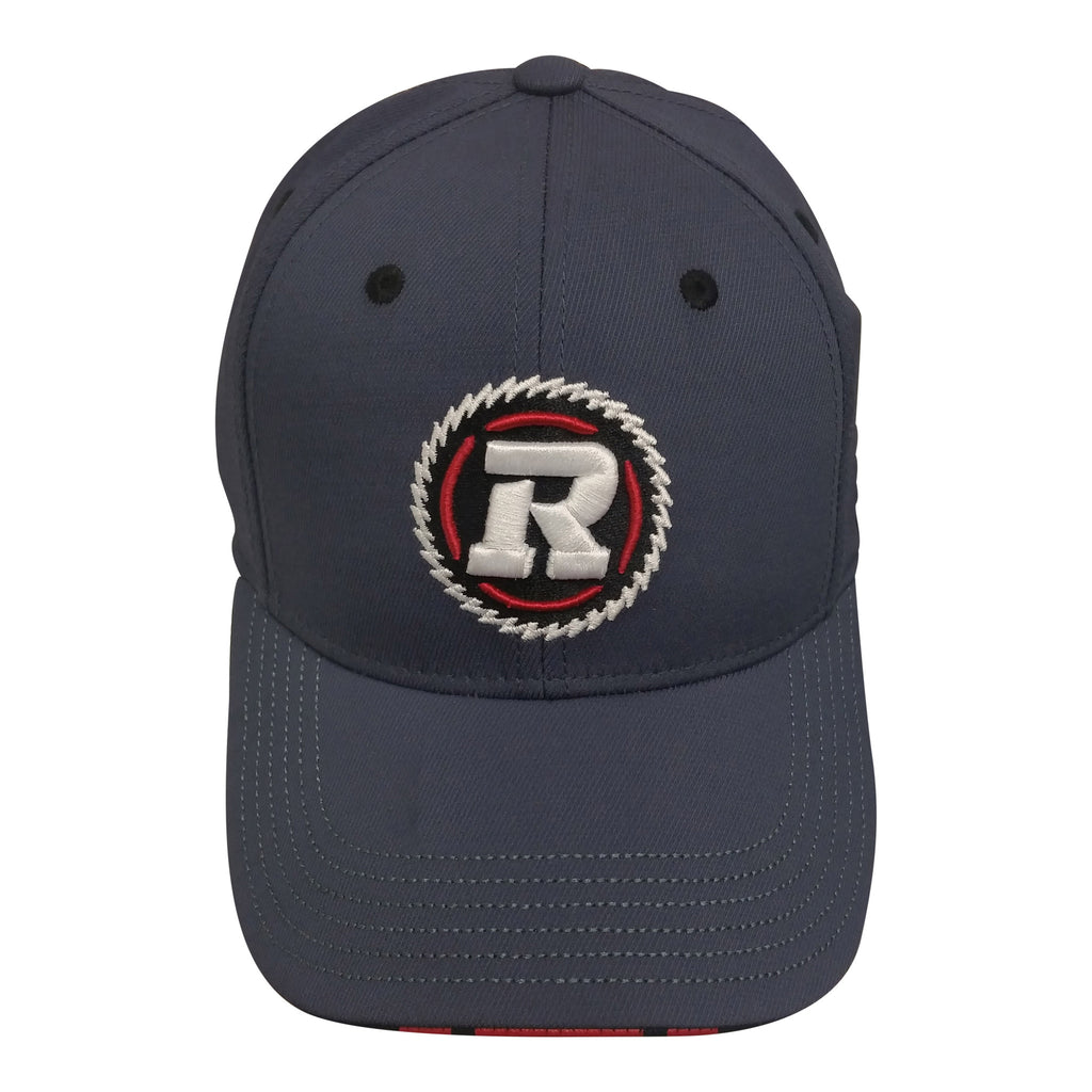 REDBLACKS Youth Structured Flex Fit Hat - charcoal