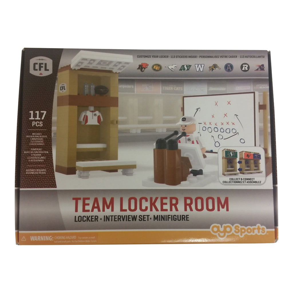 REDBLACKS CFL Team Locker Room by OYO