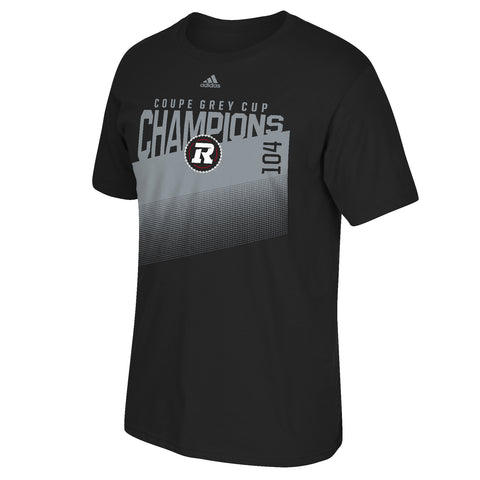 REDBLACKS adidas Grey Cup Champion Tee