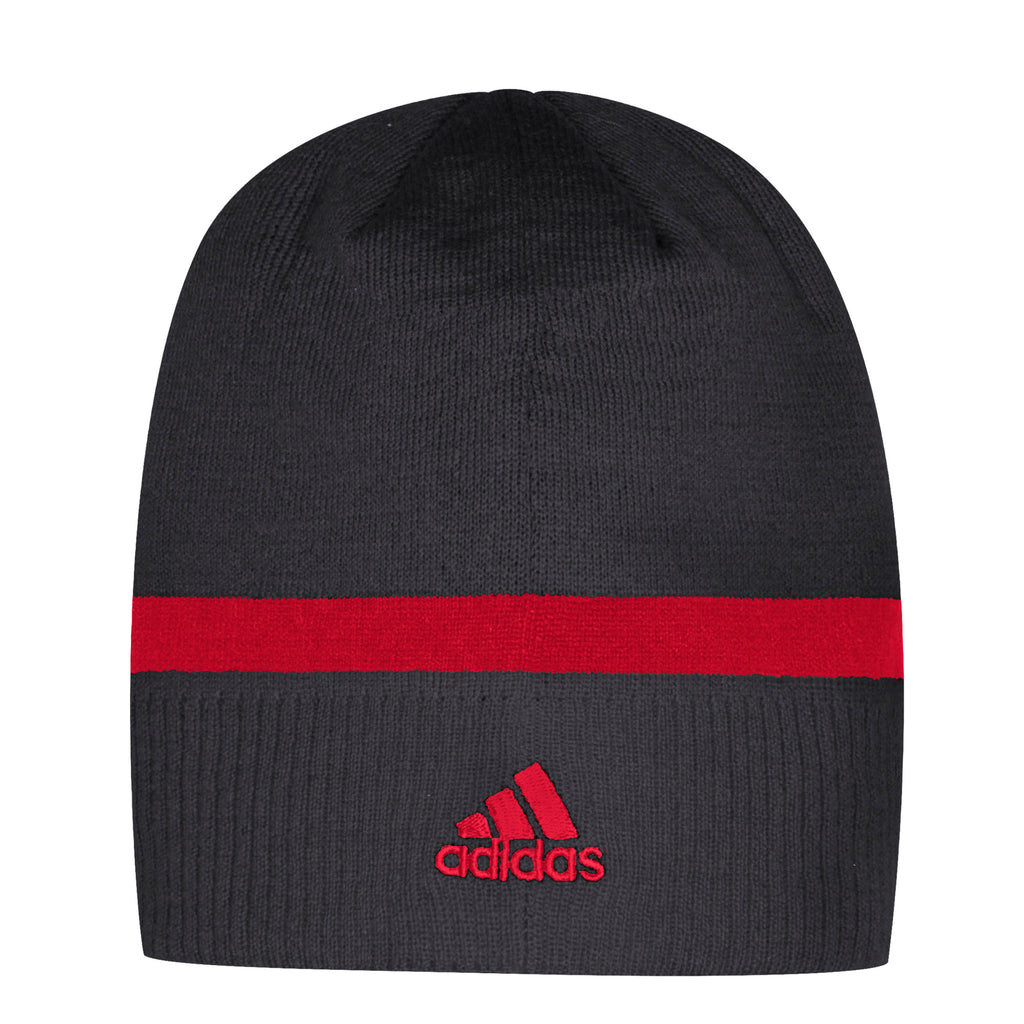 REDBLACKS Adidas Coaches Uncuffed Beanie