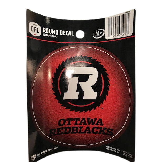 REDBLACKS Round Decal