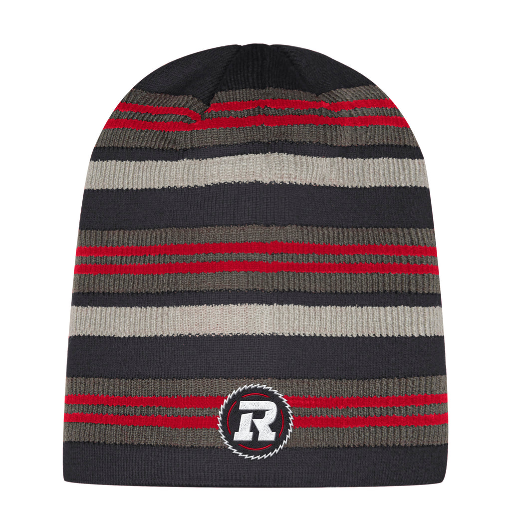 REDBLACKS Adidas Striped Beanie