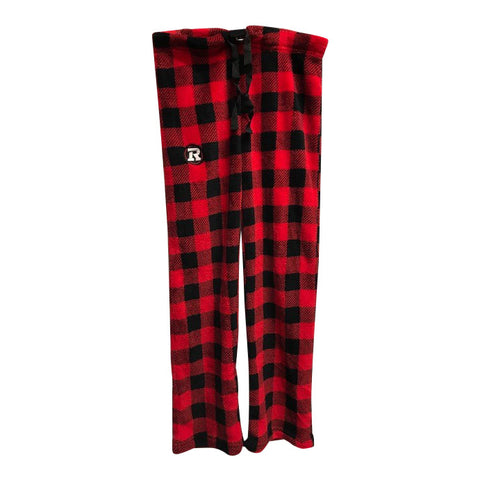 REDBLACKS Womens Great Northern Plaid Fleece Pant